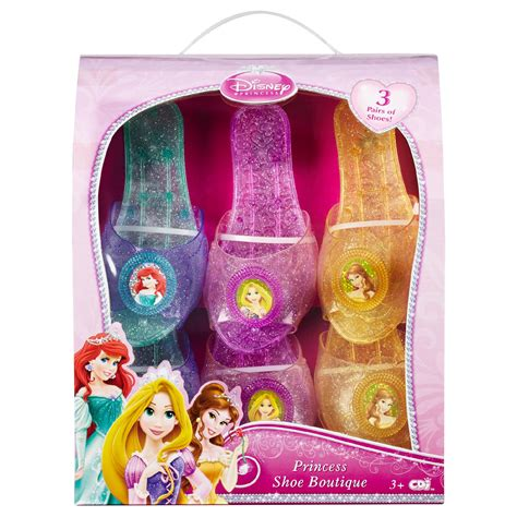 disney princess 3 pack shoes toys pretend play