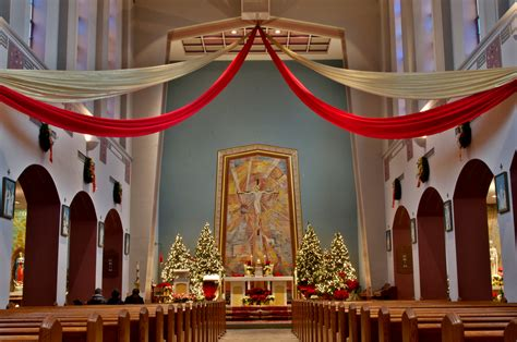 decorated for file the less church columbus ohio nave