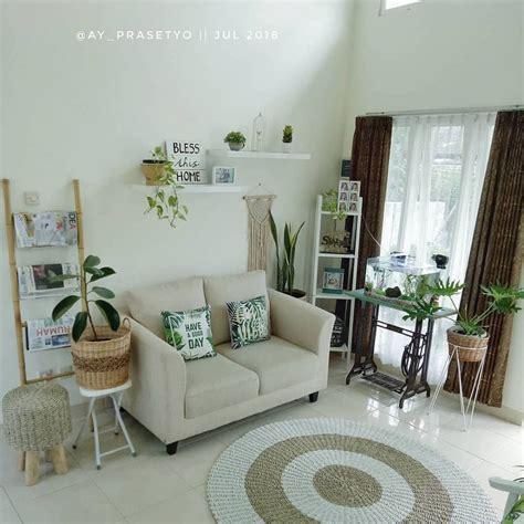 hiasan ruang tamu kecil  sederhana moden