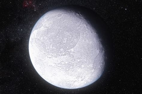 The Planet eris planet in kuiper belt past pluto geography