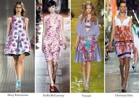 Summer 08 Trends Floral The Catwalk Looks by The Sound Of Flowers Style