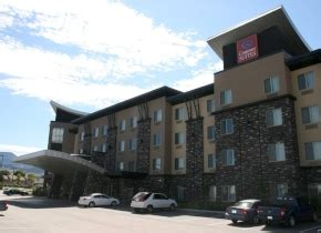 comfort inn kelowna hwy 97 hotels in kelowna british columbia canadian affair