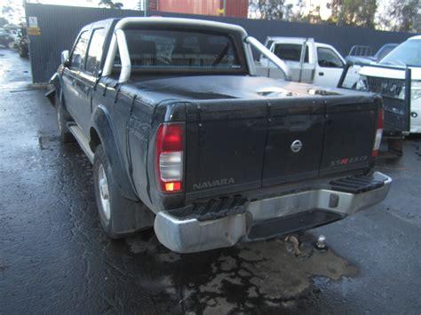nissan turbo diesel nissan navara d22 st r yd25 turbo diesel 2009 wrecking
