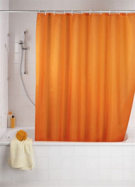 orange mould bathroom wenko orange anti mould shower curtain