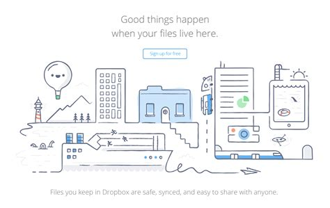 dropbox design illustrating a more human brand part 2 dropbox design
