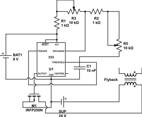 transistor based flyback driver 555 ne555 flyback driver mosfet failiure electrical engineering stack exchange