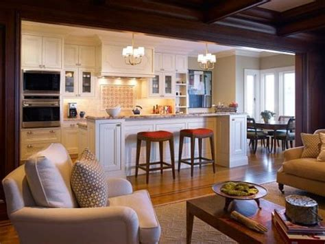small open kitchen living room easy home decorating ideas
