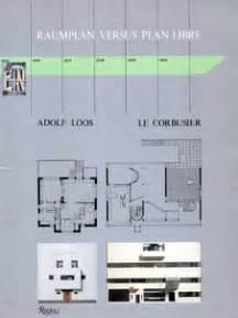 free home raumplan raumplan versus plan libre adolf loos and le corbusier