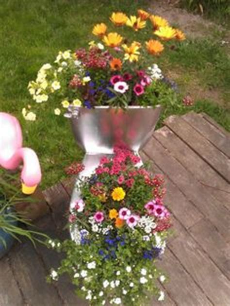 Toilet Flower Planter by Make A Beautiful Ceramic Flower Planter Out Of Your