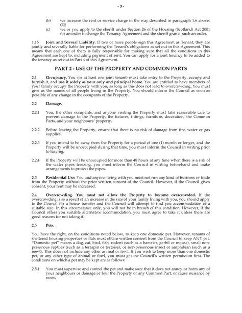tenancy agreement scotland template template for tenancy agreement scotland free