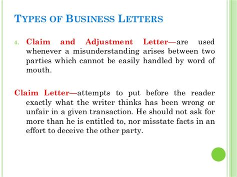 business letters wrong business letters
