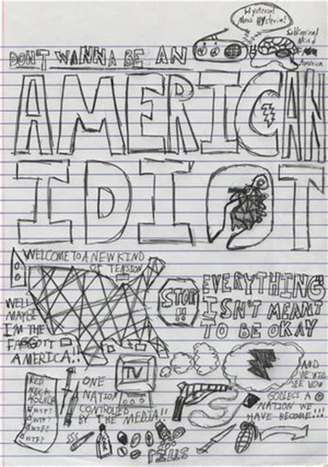 doodle definition francais don t wanna be an american idiot green day american