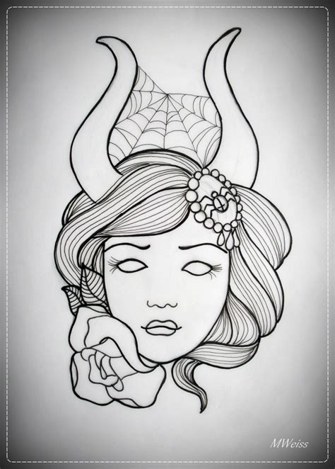 blind outline tattoo flash real photo pictures