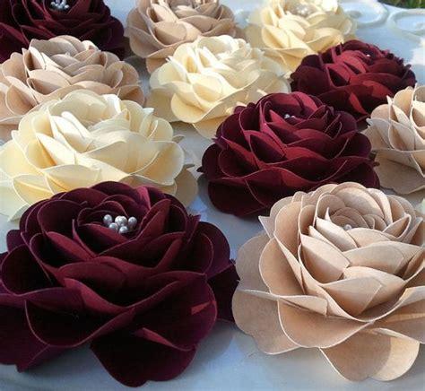 Flower Handmade Paper - best 25 handmade paper flowers ideas on paper