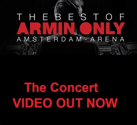 the best trance dj the best of armin in video best of electromusic
