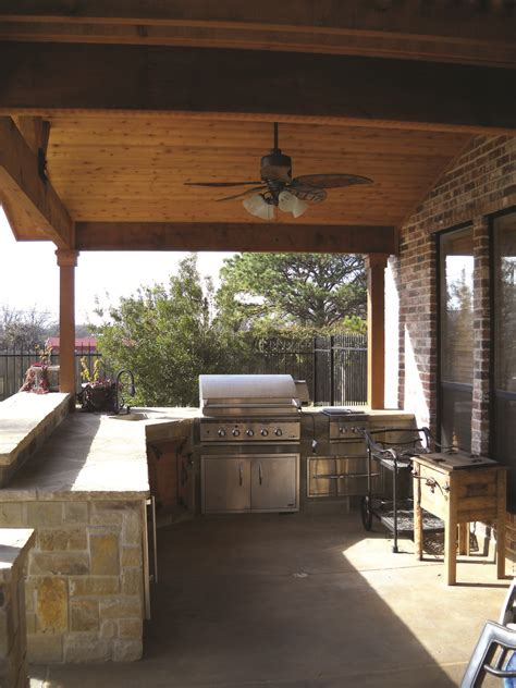 designs for outdoor kitchens rustic outdoor kitchen design archadeck outdoor living