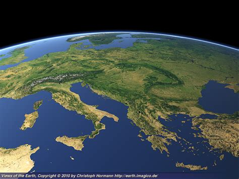 map view in earth views of the earth eastern europe