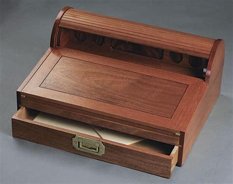 mahogany and oak portable writing desk finewoodworking
