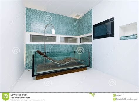 bathtub with glass extraordinary designer bathroom with glass bathtub royalty free stock photography
