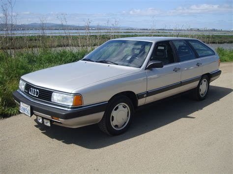 audi wagon this 1988 audi 5000 cs turbo quattro wagon checks all the