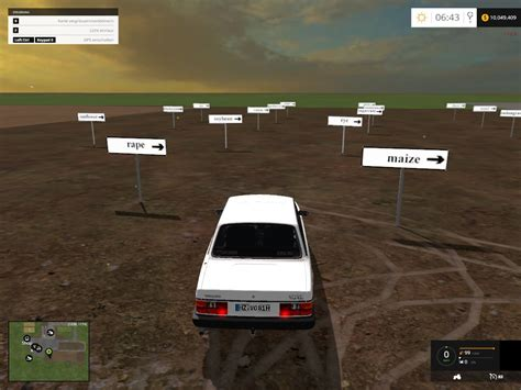 placeable fruit types traffic signs mod farming
