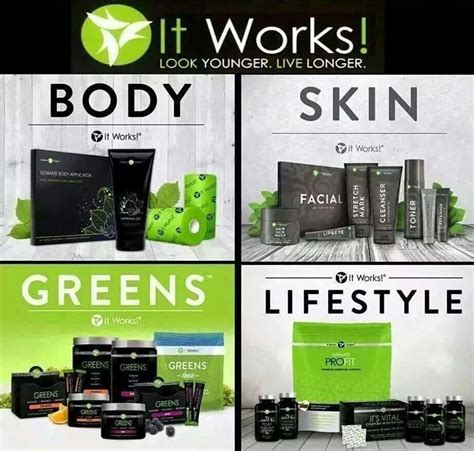 It Works products shop