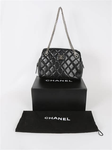 Chain Quilted Shoulder Bag chanel quilted chain shoulder bag luxury bags