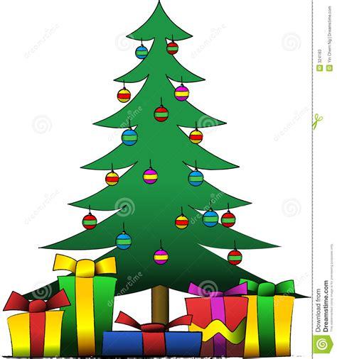 weihnachtsbaum und geschenke stockfotos bild 324183