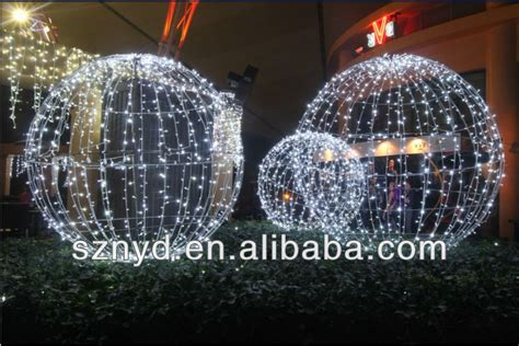 giant led christmas ball for outdoor decorations buy