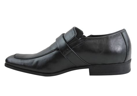 guess vieno mens dressy slip on shoes brand house direct