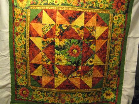 Sunflower Quilt by Farm Quilter January 2011