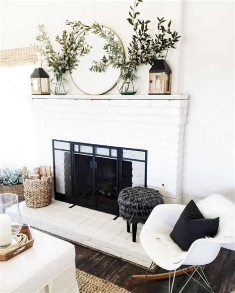 Fireplace Mantel Decorating Ideas Futurist Architecture