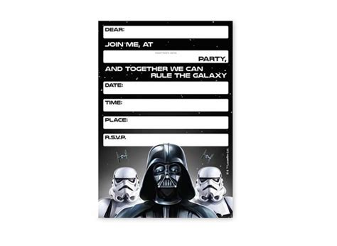 printable party invitations nz star wars party supplies sweet pea parties