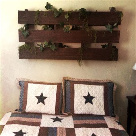 diy rustic pallet headboard and wall art pallet decorative headboard wallart studios