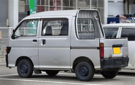 daihatsu hijet deck car interior design
