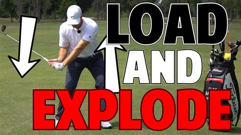 best way to increase swing speed how to increase golf swing speed load and explode
