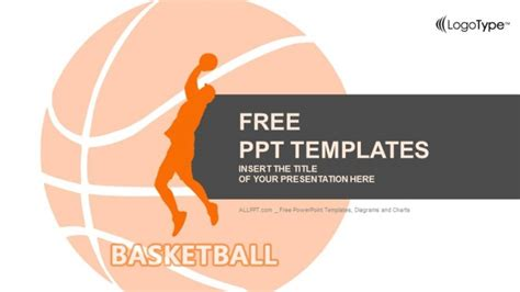 basketball powerpoint template free basketball player powerpoint templates