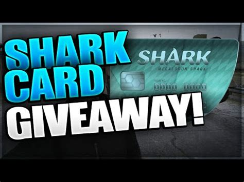 Sharks Giveaway - gta 5 online quot megalodon shark card quot giveaway 8 000 000 shark card giveaway