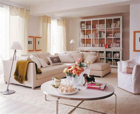 wohnen in wei 223 ratgeber wohnideen elegante - Elegante Wohnzimmer