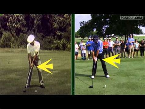 konica minolta swing vision video ben hogan and jason dufner swing sequence in konica