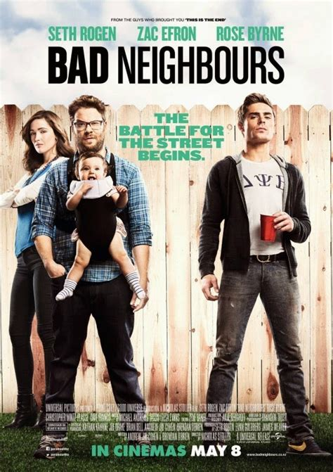 how to make a film in a neighbors town movie smack talk movie review bad neighbors 2014