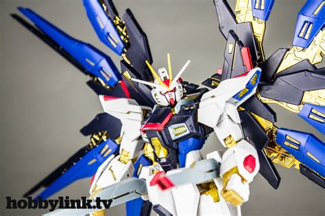 Mg Strike Freedom Gundam Finish Ver Bandai gunpla tv episode 137 rg strike freedom mg nu gundam