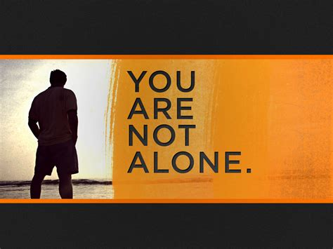 you are not alone millionstotell you are not alone