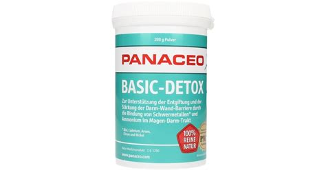 Detox Basics Natures by Basic Detox Powder Panaceo Vitalabo Shop Uk