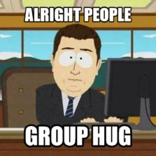 Group Hug Meme - memes com stefeni c harvey user uploads
