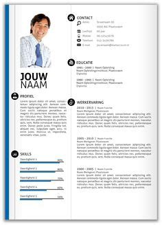 Gratis Cv Sjabloon Word 2007 1000 Images About Cv Templates Mooicv 1pg On Cv Design Cv Template And Cv Format