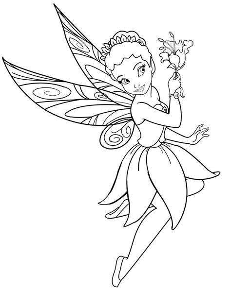 disney fairy iridessa lineart by mercuriusneko on deviantart