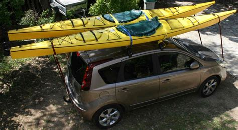 porte kayak voiture barre de toit pour kayak