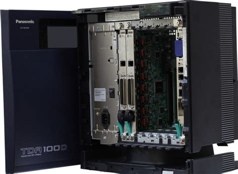 Pabx Panasonic Kx Tda100d 20 arquelec 4704 5813