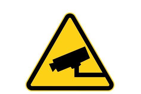 Sticker Camerabewaking Bestellen by Camerabewaking Pictogram Sticker